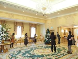 リーガロイヤルホテルのクリスマスを撮る